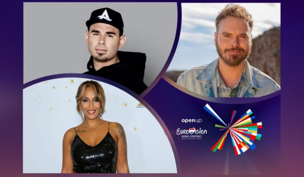 Eurovision 2021: Afrojack, Glennis Grace and Wulf join the Grand final interval act  line up