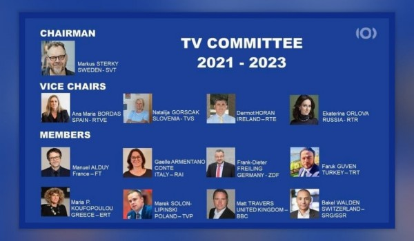 EBU: The 2021 TV Assembly elects the new TV Committee