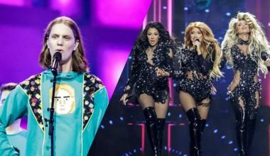 Eurovision 2021: Second rehearsal for Daði og Gagnamagnið from Iceland and Hurricane from Serbia