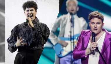 Eurovision 2021: Second Rehearsal for Gjon's Tears from Switzerl dand and Fyr og Flamme from Denmark