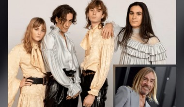 """Italy: Måneskin join forces with internationally acclaimed rock star Iggy Pop in their new version of  """"I Wanna Be Your Slave"""""""
