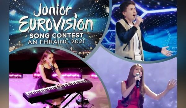 Ireland: The three finalists of Junior Eurovision Éire 2021 determined