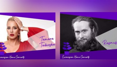 """Tamara Todevska and Rasmussen to attend the """"Eurovision Home Concerts"""" series"""