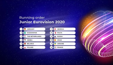 Junior Eurovision 2020: Complete running order unveiled