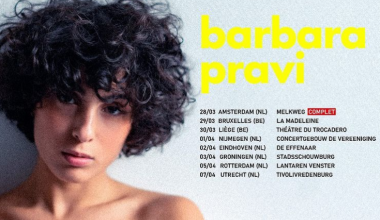 France: Barbara Pravi reveals the first dates & cities of her European Tour