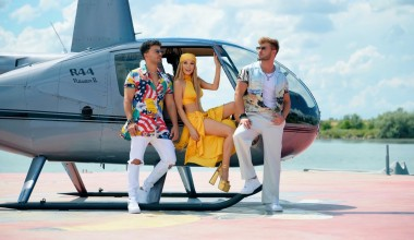 """Romania: Elena Gheorghe teams up with Christian D and Dony in the new single """"Bailar"""""""