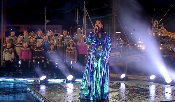 Eurovision Song Contest -The Story of Fire Saga : Watch Molly Sandén peform live from Iceland