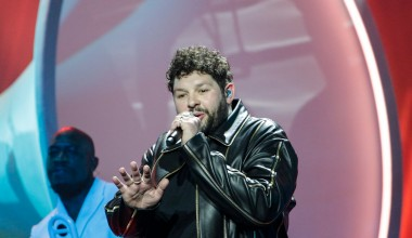 Eurovision 2021: First Rehearsal for James Newman from the United Kingdom