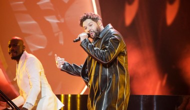 Eurovision 2021: Second Rehearsal for James Newman from the United Kingdom