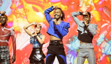 Eurovision 2021: Second rehearsal for Jeangu Macrooy for the Netherlands