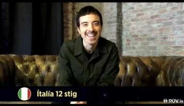 "Iceland: Italy's Diodato tops the voting of the atlernative ESC show ""Okkar 12 stig"""