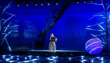 JESC 2020 First Shootings footage:  Susan from Germany records her performance of 'Stronger with you'