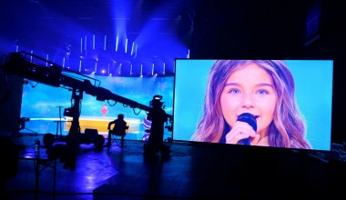 JESC 2020 First Shootings footage: Valentina from France records her performance of