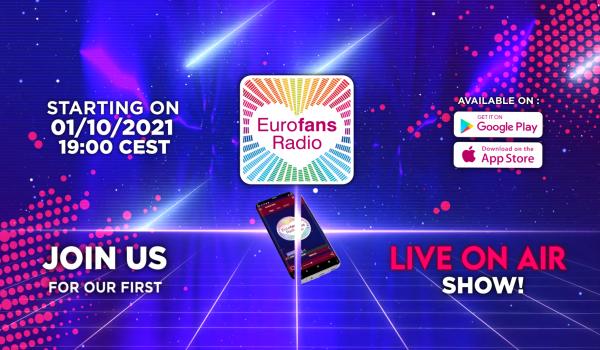 Eurofans Radio: Live shows kick off on Friday, October 1 at 19:00 CEST