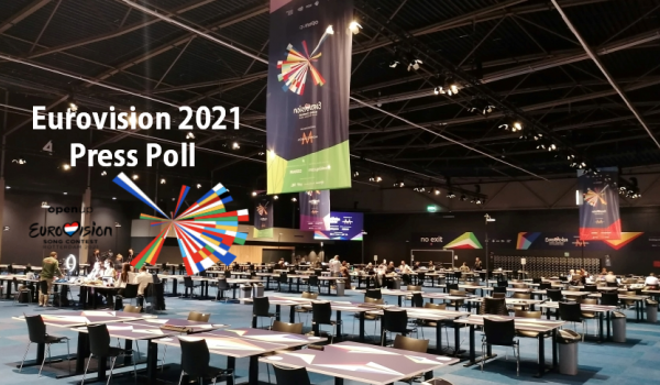 Eurovision 2021:  Second day Press Poll results